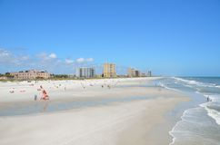 plażowy Jacksonville obrazy royalty free