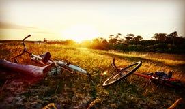 Plażowy jechać na rowerze Zdjęcie Royalty Free