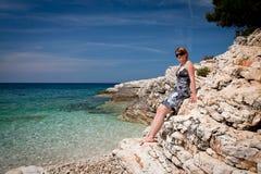 plażowy kamenjak obraz stock