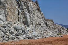 plażowy kefalonia Zdjęcie Stock
