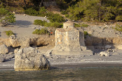 plażowy kościół Obraz Royalty Free