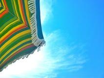 Plażowy lato parasol Zdjęcia Stock