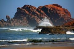 plażowy legzira Obrazy Stock
