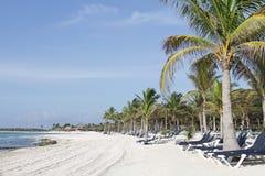 plażowy majowie Mexico Riviera obrazy stock