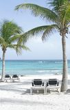 plażowy majowie Mexico Riviera zdjęcia stock