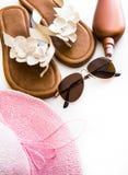 Plażowy materiał zdjęcie stock