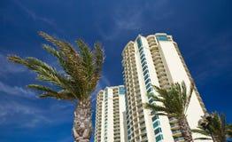 plażowy mieszkanie własnościowe Zdjęcia Royalty Free