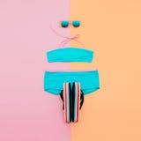 Plażowy moda set obrazy stock