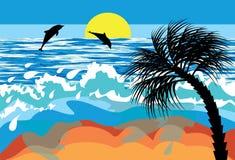 plażowy morze Obrazy Stock