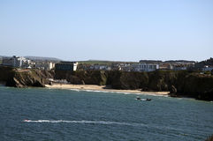 plażowy newquay towan Zdjęcia Stock