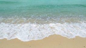 Plażowy ocean fal zwolnione tempo zbiory