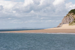 plażowy pembrokeshire Zdjęcia Royalty Free