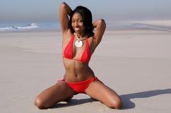 plażowy piękno Fotografia Stock