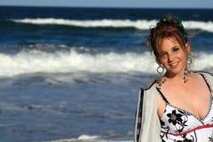 plażowy piękno Zdjęcia Stock
