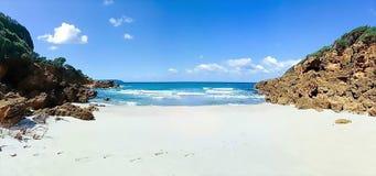 Plażowy piękno w naturze obrazy royalty free