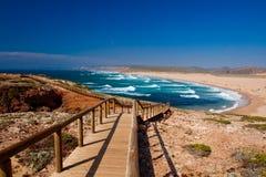 plażowy piękny zdjęcie royalty free