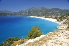 plażowy piękny Zdjęcia Stock