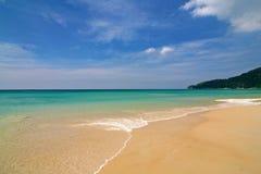 plażowy piękny Fotografia Royalty Free