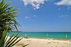 plażowy piękny Obrazy Royalty Free