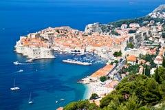 plażowy piękny Dubrovnik obraz royalty free