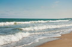 plażowy piękny morze Fotografia Royalty Free