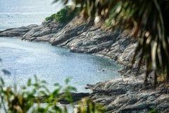plażowy piękny Phuket Thailand tropikalny Zdjęcie Stock