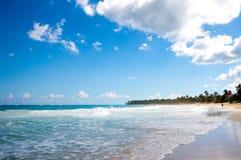 plażowy piękny tropikalny Obrazy Stock
