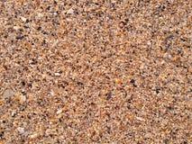Plażowy piaska tło Zdjęcie Stock