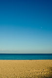 plażowy piaskowaty obrazy royalty free