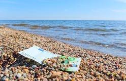 plażowy pieniądze Fotografia Stock