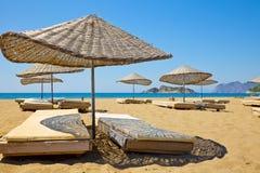plażowy pogodny Zdjęcie Royalty Free