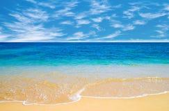 plażowy pogodny Fotografia Stock