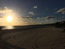 Plażowy przód Larimar kurort w Punta Cana republice dominikańskiej Teraz fotografia stock