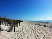Plażowy przespacerowanie zdjęcie stock