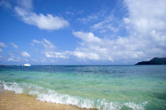plażowy równik Obrazy Stock
