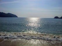 plażowy relaksujący czas obrazy royalty free