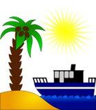 plażowy słońce Zdjęcie Stock