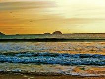 Plażowy Santa Catarina fotografia royalty free
