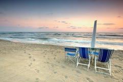 plażowy sceniczny zmierzch obrazy stock