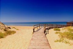 plażowy sposób obrazy stock