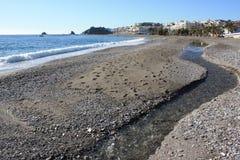 plażowy strumień Obrazy Stock