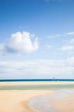 Plażowy tło Zdjęcia Stock