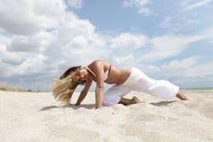 plażowy taniec Zdjęcie Stock