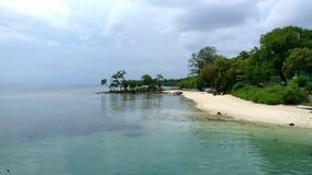 Plażowy widok w Andaman zdjęcie stock