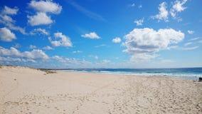 Plażowy widoku @ jastrzębia gniazdeczko Fotografia Stock