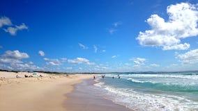 Plażowy widoku @ jastrzębia gniazdeczko Zdjęcie Stock