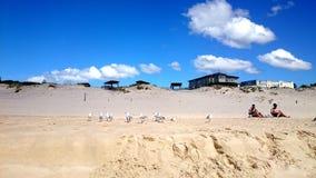 Plażowy widoku @ jastrzębia gniazdeczko Obraz Royalty Free