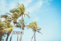 plażowy znak dla surfować teren zdjęcia royalty free