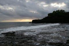plaży długi udziału tanah Fotografia Stock