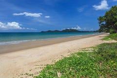 plaży w kąpieliskach resztę dnia słońce Thailand Zdjęcia Stock